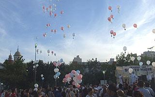 Celebraron el día de Nuestra Señora de la Paz en Lomas